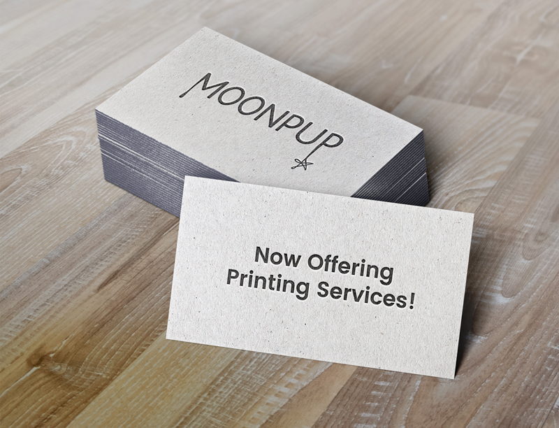 Moonpup is printing moonpup productions moonpup is pleased to be offering high quality printing services from business cards to brochures and greeting cards to stickers weve got it all colourmoves